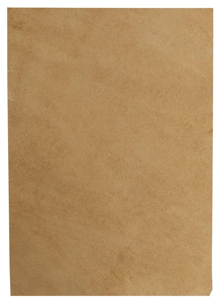 Ruskea lehmännahkapala A5