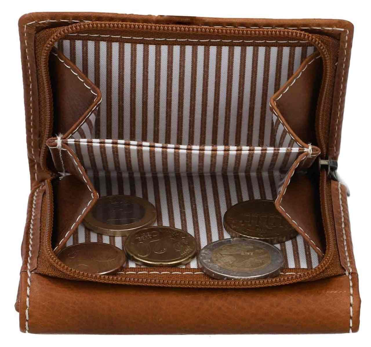 Outlet Geldbörse - kleinere Lederfehler – ansonsten neu - siehe Video