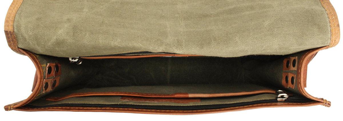 Outlet Umhängetasche - Leder leicht fettig - kleinere Lederfehler - faltiges Leder - andere Leder Fa