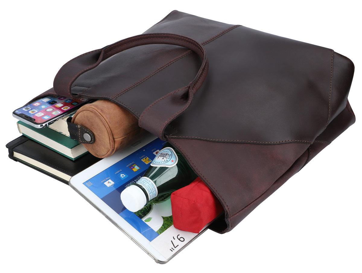 Outlet Handtasche - kleinere Lederfehler - Verfärbungen- ansonsten neu - siehe Video
