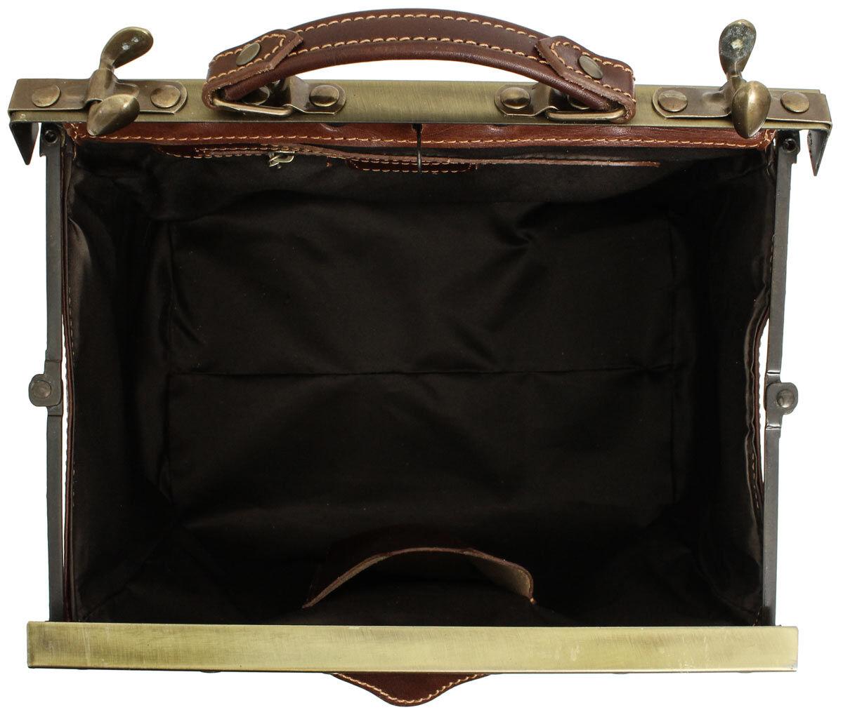 Outlet Handtasche - defekte Nähte - faltiges Leder - ansonsten neu - siehe Video
