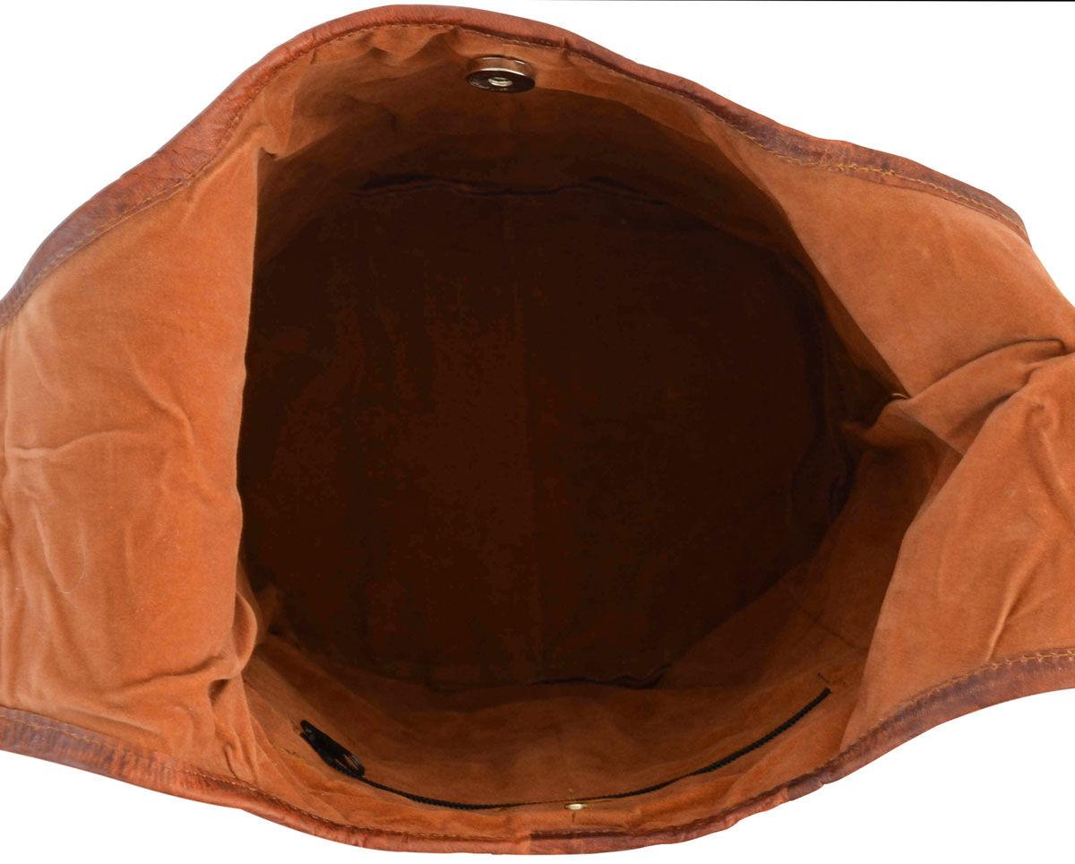 Outlet Umhängetasche - defekter Verschluss – faltiges Leder - Verfärbungen - ansonsten neu – siehe V