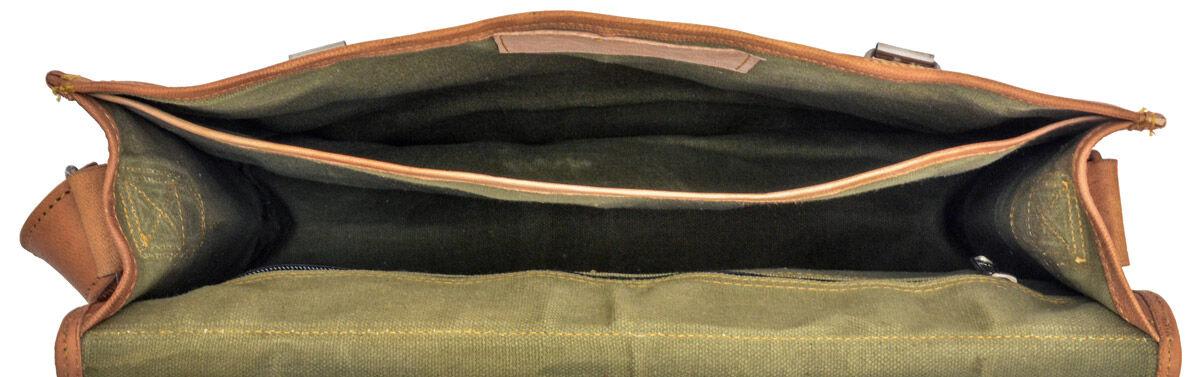 Outlet Umhängetasche - Leder leicht fettig – kleinere Lederfehler - leichter Rost - Klebereste - and