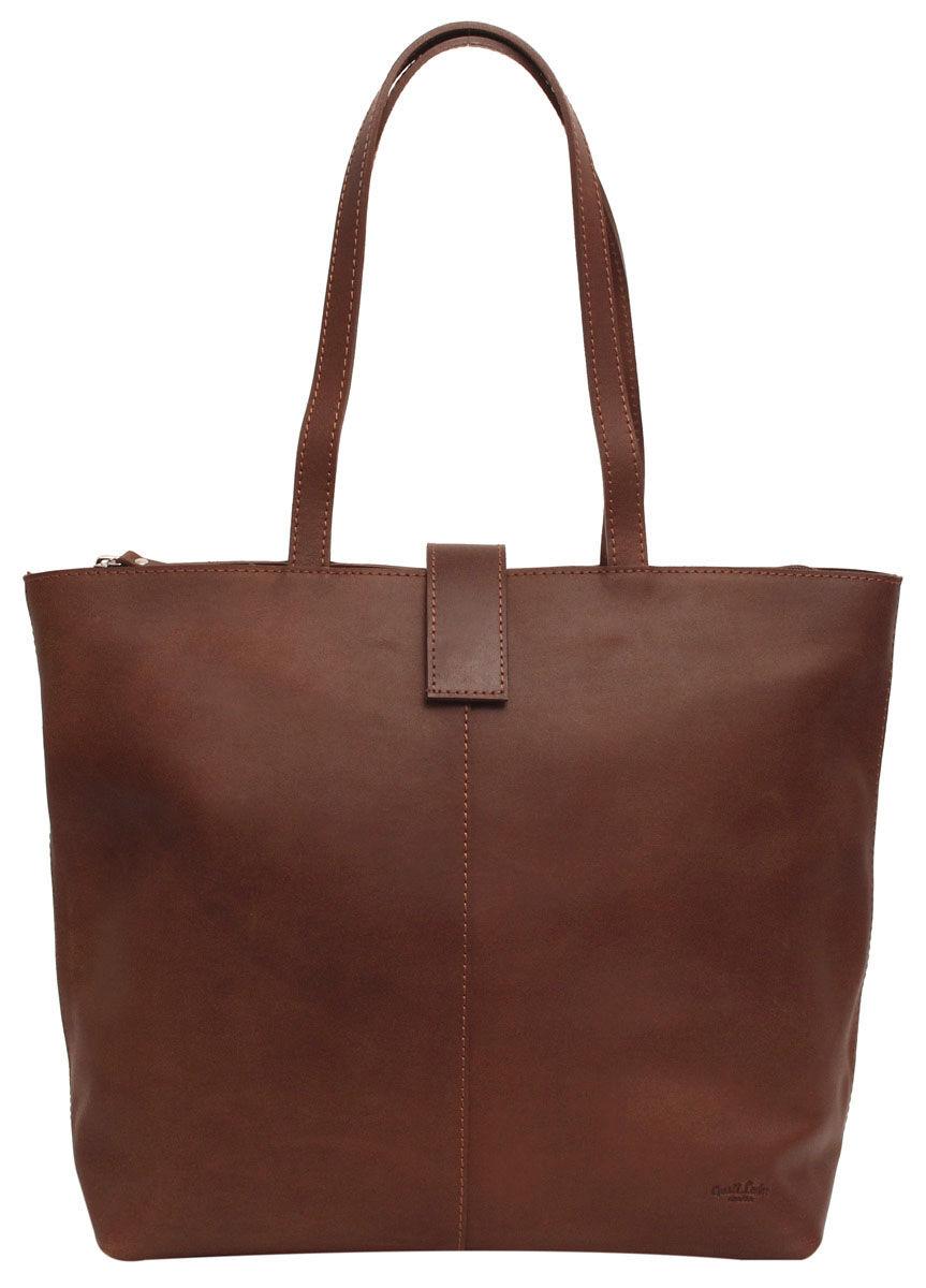 Outlet Shopper - kleinere Lederfehler- Diese Tasche hat keinen Reißverschluss- flecken im stoff-