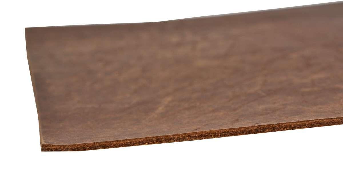 Pièce de cuir - coupon cuir de buffle A3