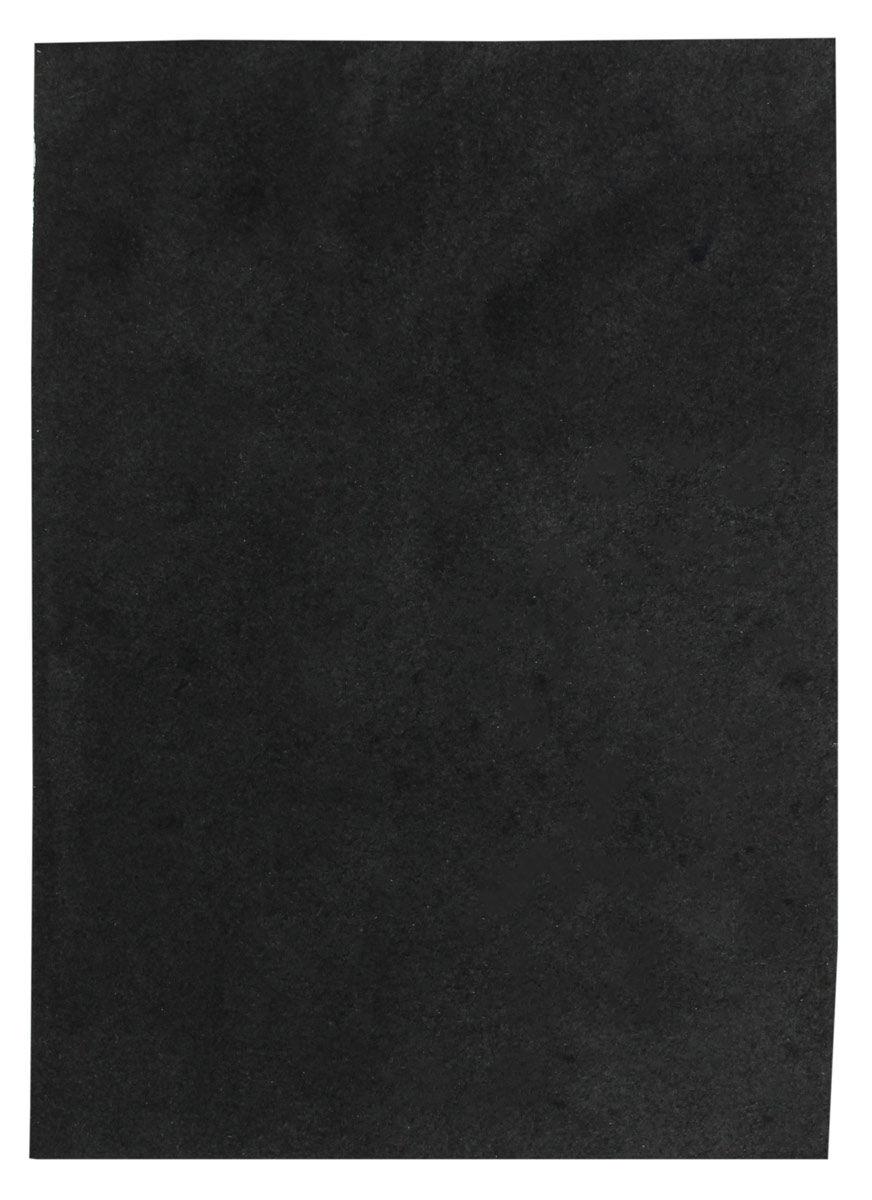Black Leather Piece Cow Hide 100% Natural