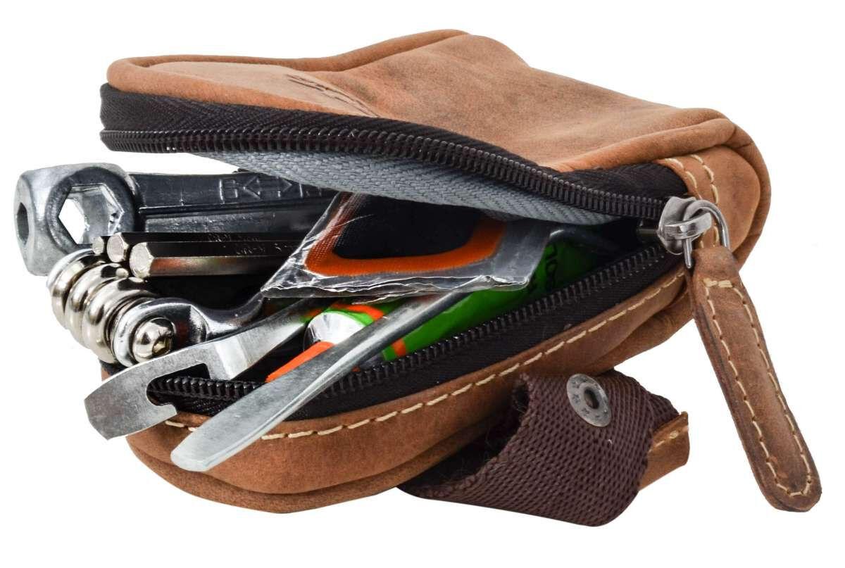 Outlet Satteltasche - fehlender Tragegurt auf der Rückseite - ansonsten neu - siehe Video