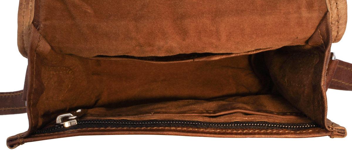 Outlet Handtasche - leichter Rost - faltiges Leder - ansonsten neu - siehe Video