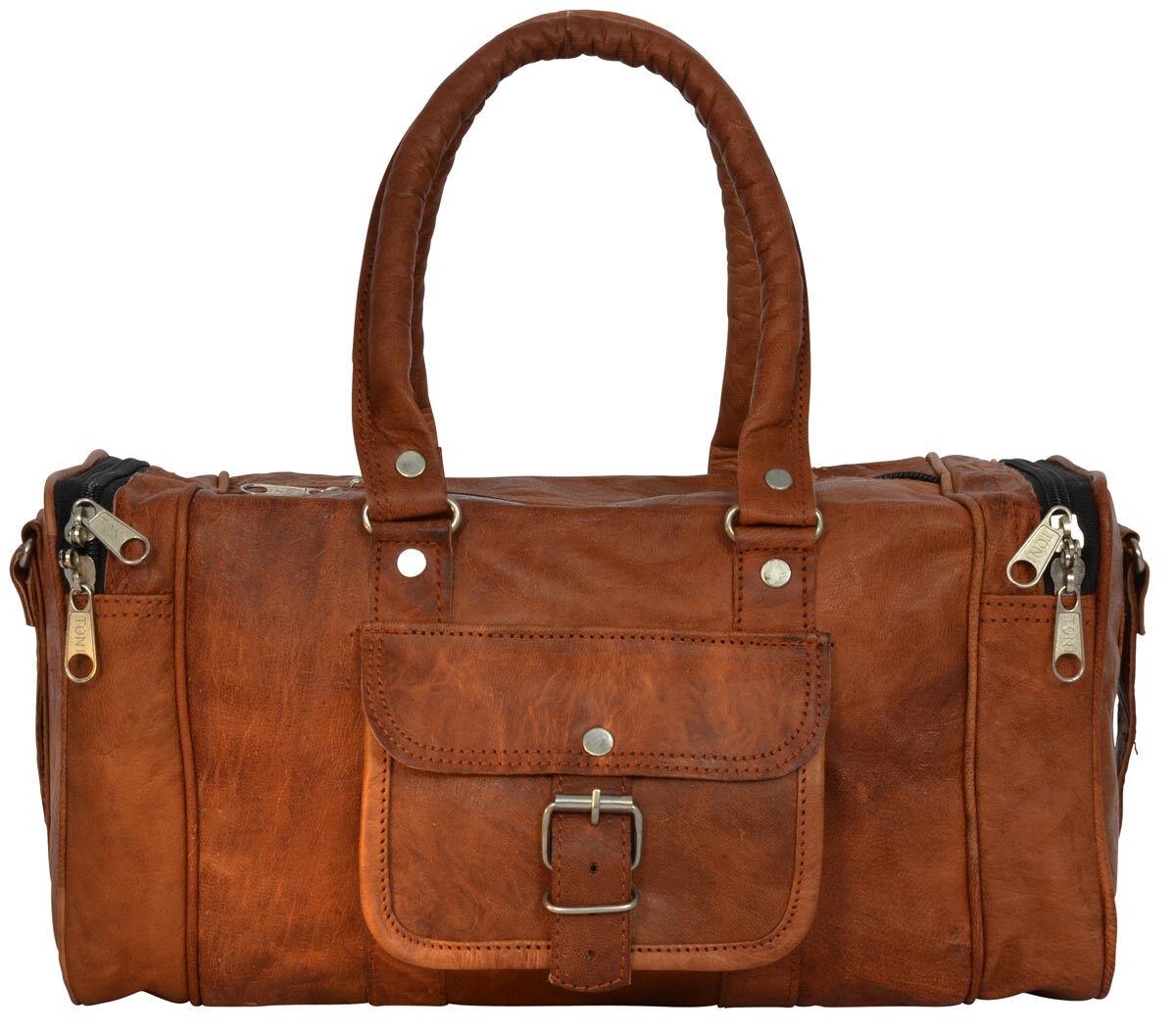 Outlet Handtasche - Leder leicht fettig – kleinere Lederfehler - faltiges Leder - andere Innenfutter