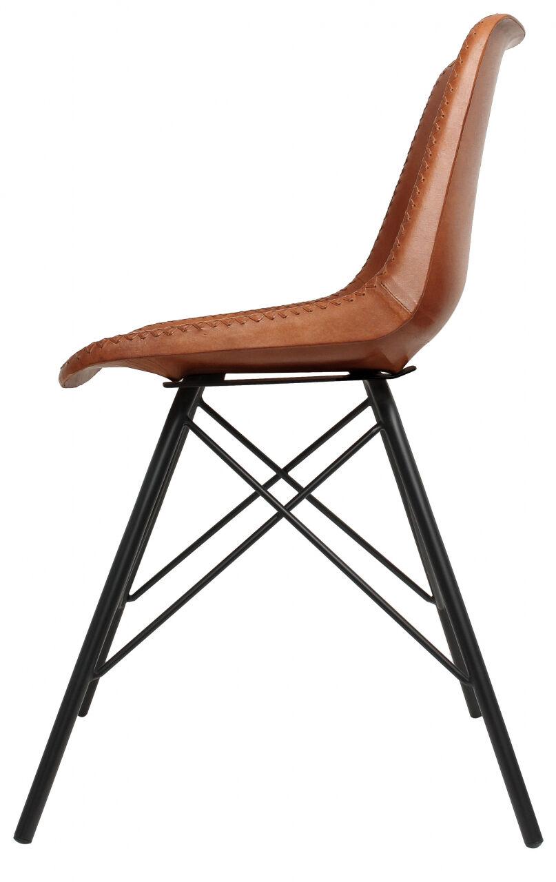 Outlet Stuhl - fehlerhaftes Design - kleinere Lederfehler - ansonsten neu – siehe Video