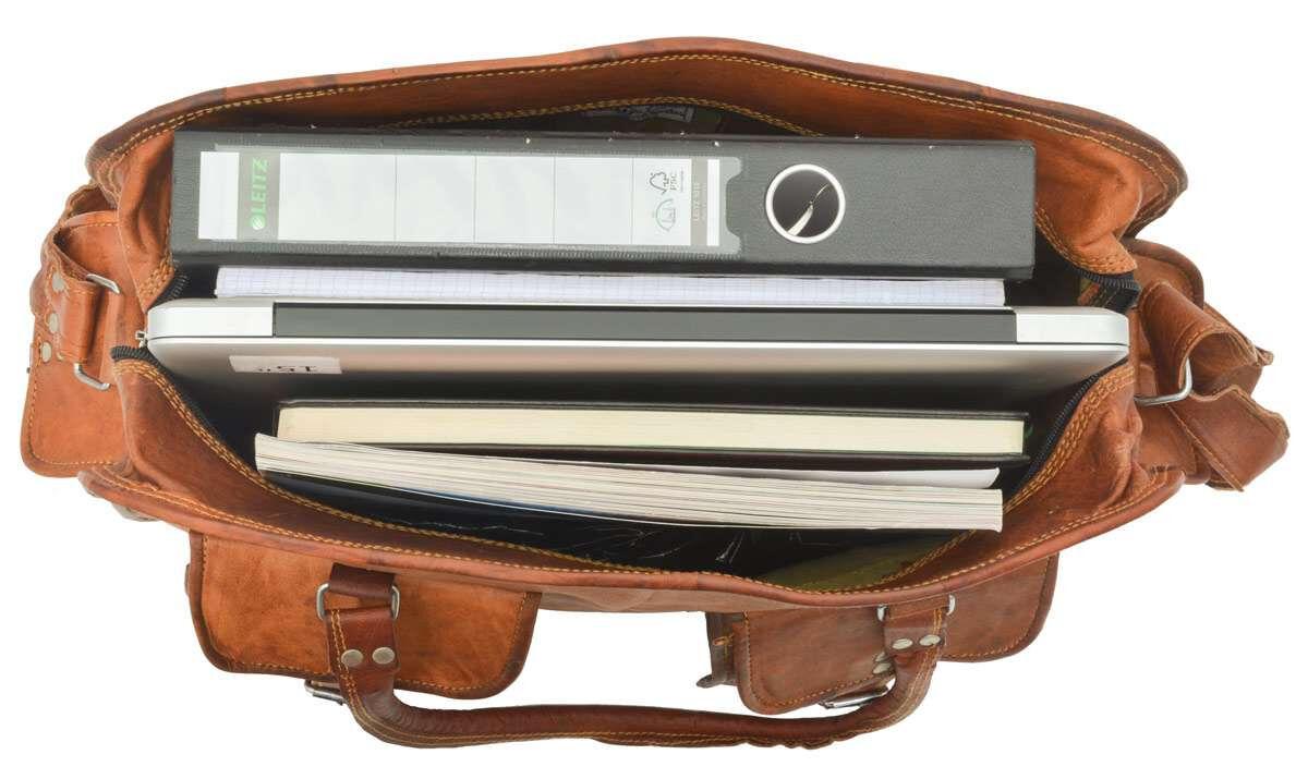 Outlet Reisetasche – kleinere Lederfehler – leichter Rost – ansonsten neu – siehe Video