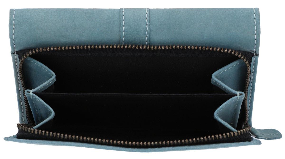 Outlet Geldbörse - leichte Verfärbung - kleine Farbunterschiede im Leder - ansonsten neu - siehe Vid