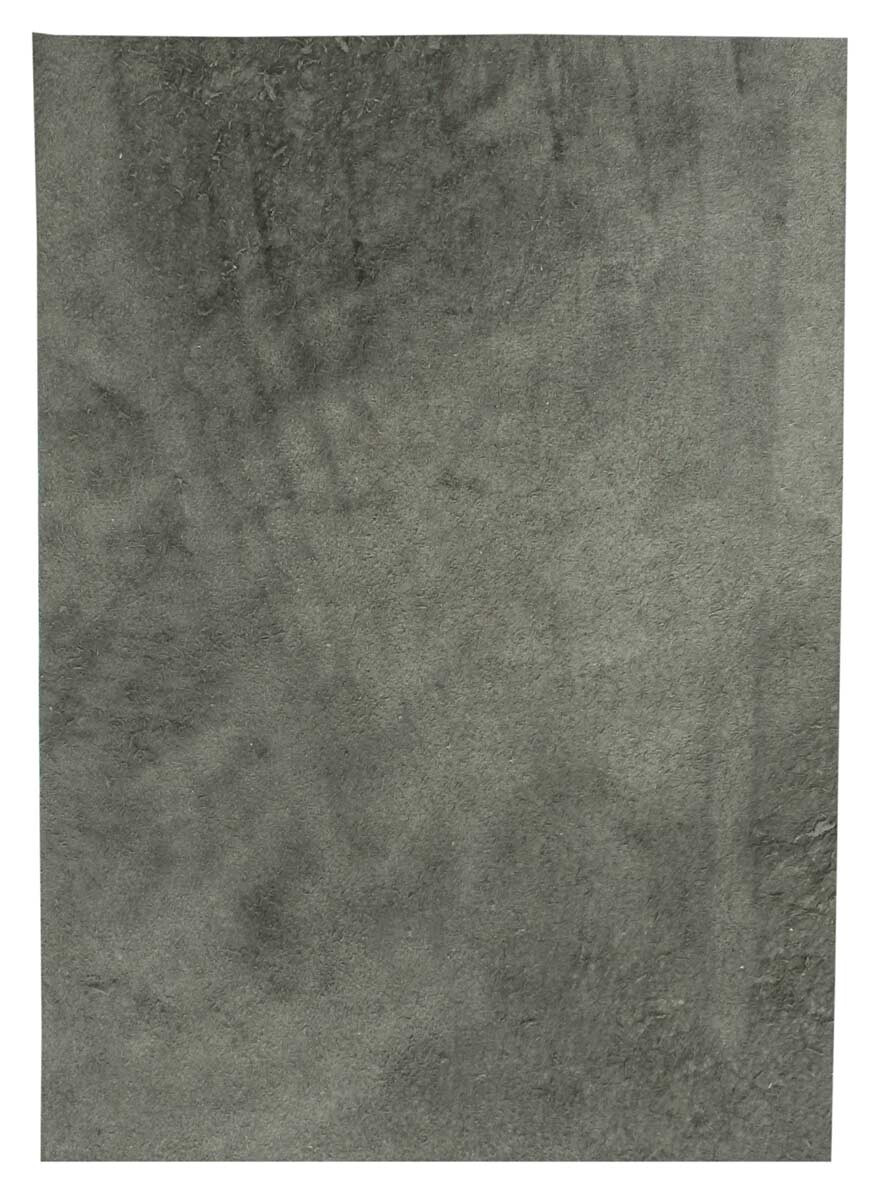Grau Lederstück aus Rindsleder