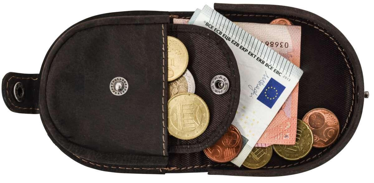 Outlet Geldbörse - Farbunterschiede im Leder - ansonsten neu - siehe Video