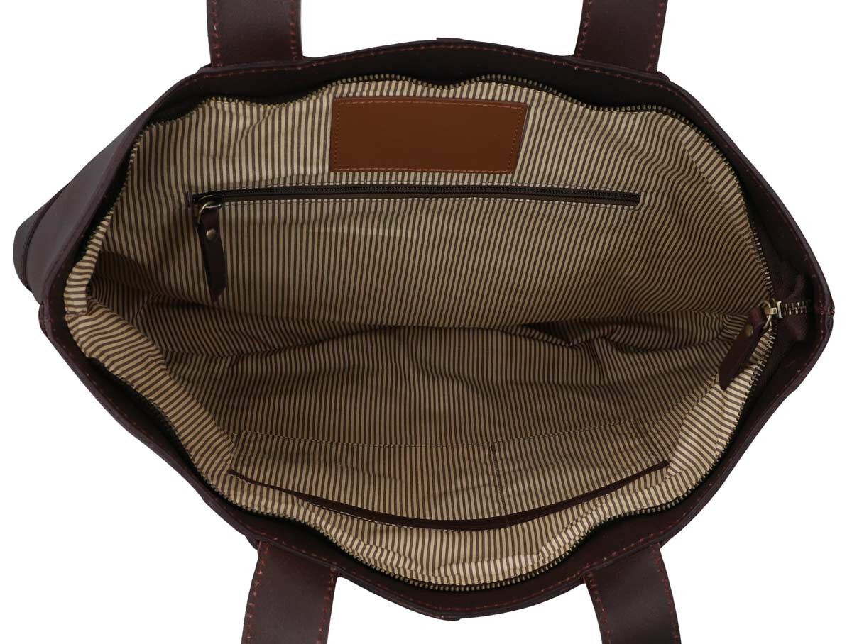 Outlet Handtasche - leicht eingerissenes Leder - kleinere Lederfehler - faltiges Leder – ansonsten n