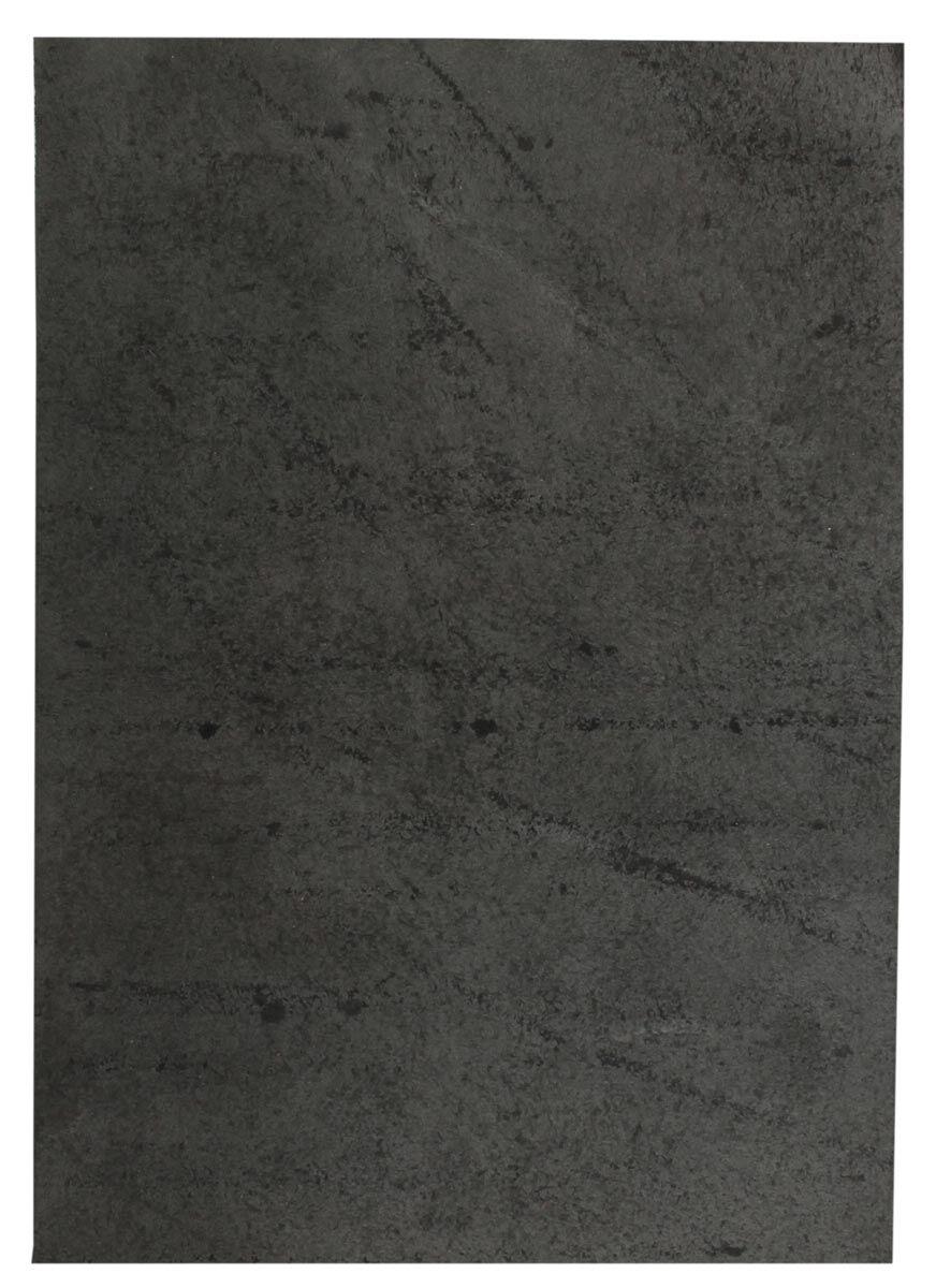 Pièce de cuir de vachette noir
