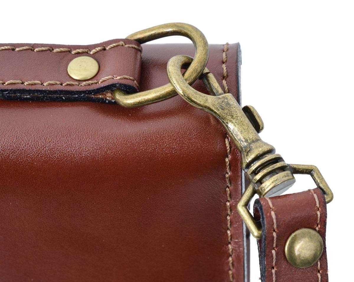 Outlet Aktentasche – kleinere Lederfehler - fehlt Schlüssel – ansonsten neu – siehe Video