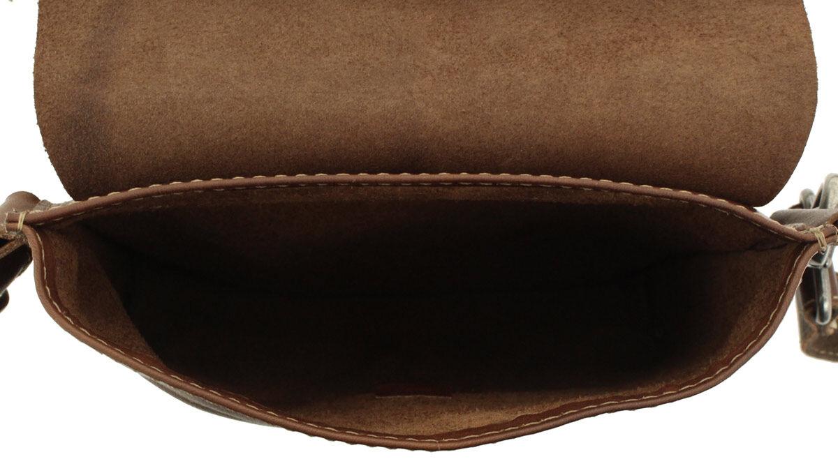 Outlet Bauchtasche - kleinere Lederfehler – leicht eingerissenes Leder - ansonsten neu – siehe Video