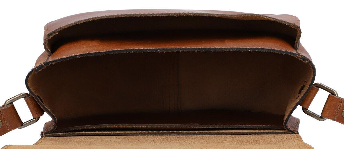 Outlet Umhängetasche - kleinere Lederfehler – faltiges Leder - ansonsten neu – siehe Video