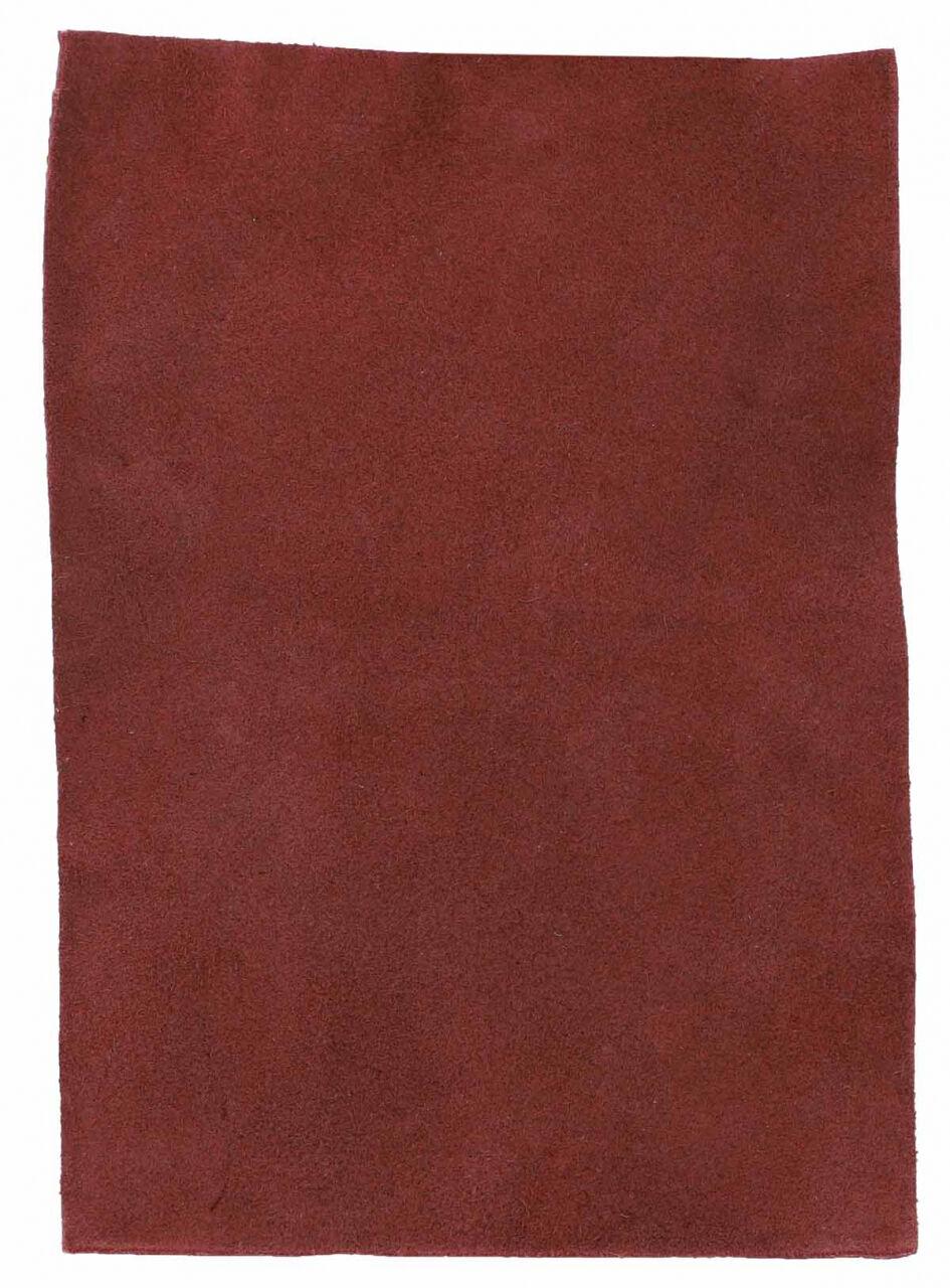 Läderstyck Läderbit av koläder DIN A5 DIY i rött Läder