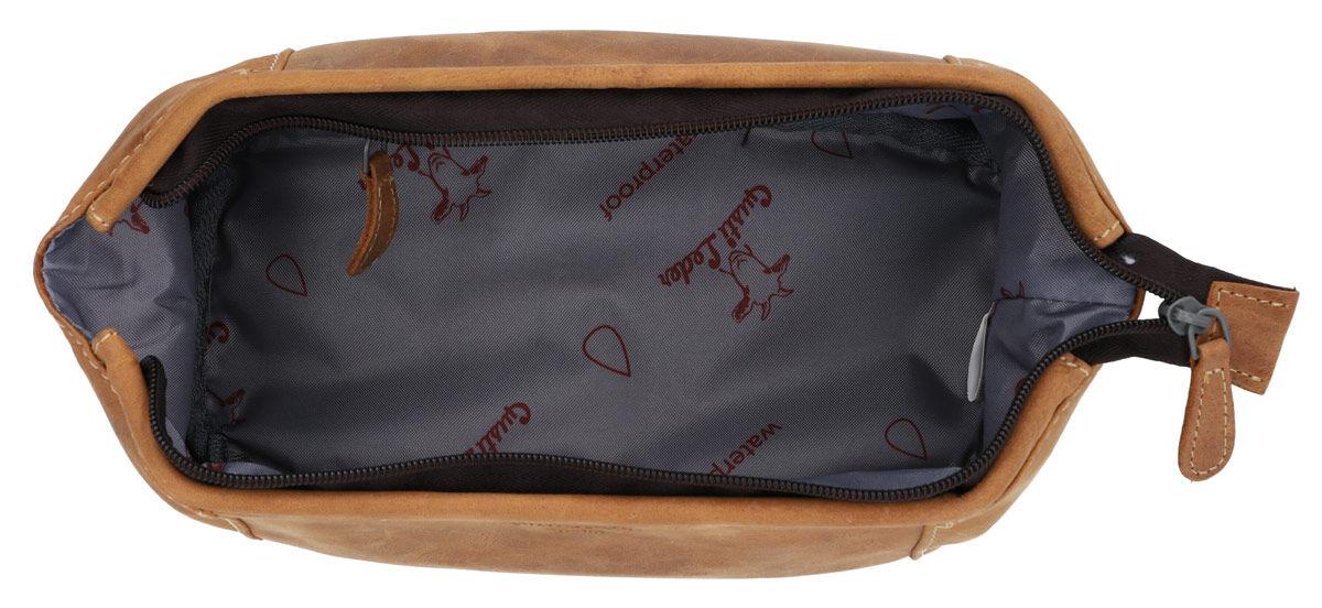 Outlet Kosmetiktasche – Altes Logo - kleinere Lederfehler- ansonsten neu - siehe Video