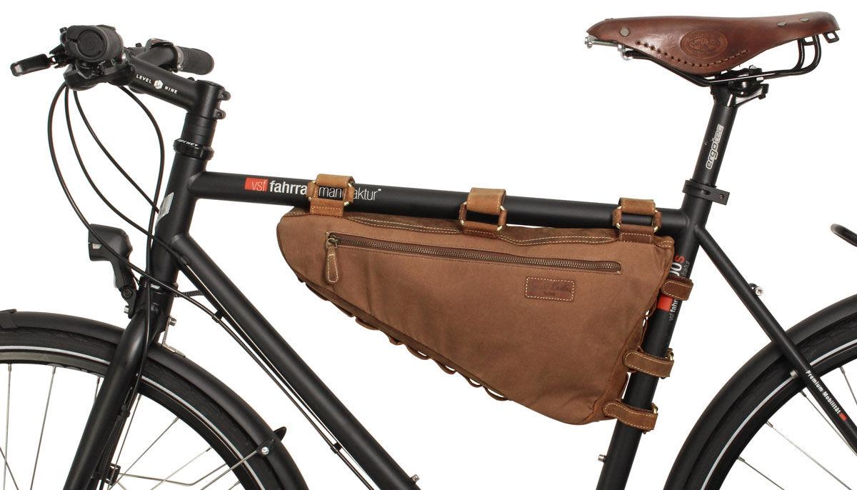 Outlet Fahrradtasche – kleinere lederfehler – ansonsten neu – siehe Video