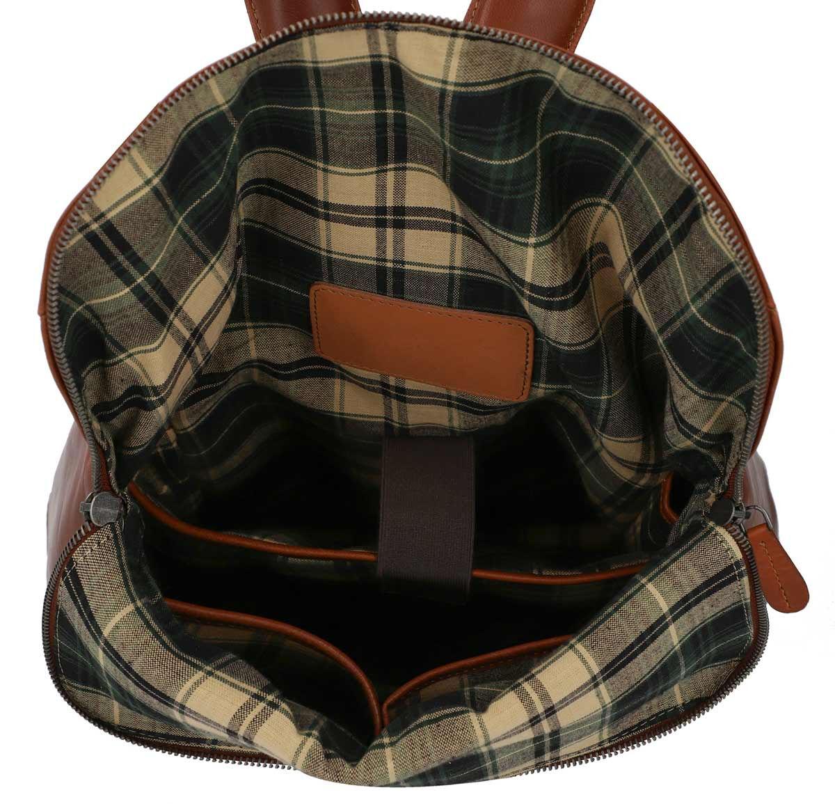 Outlet Rucksack - kleinere Lederfehler – faltiges Leder - ansonsten neu – siehe Video