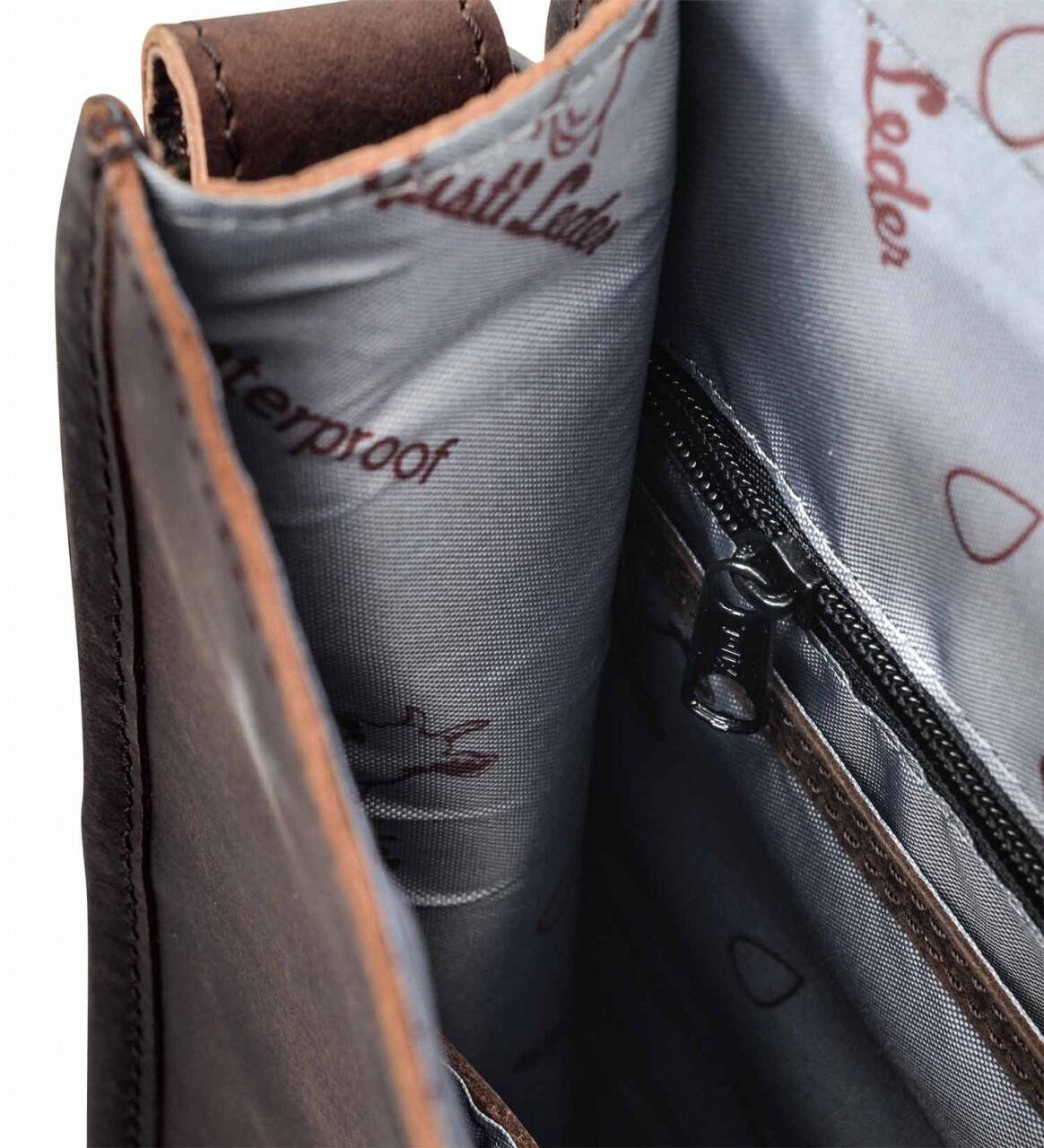 Outlet Umhängetasche - kleinere Lederfehler - Altes Logo - ansonsten neu - siehe Video