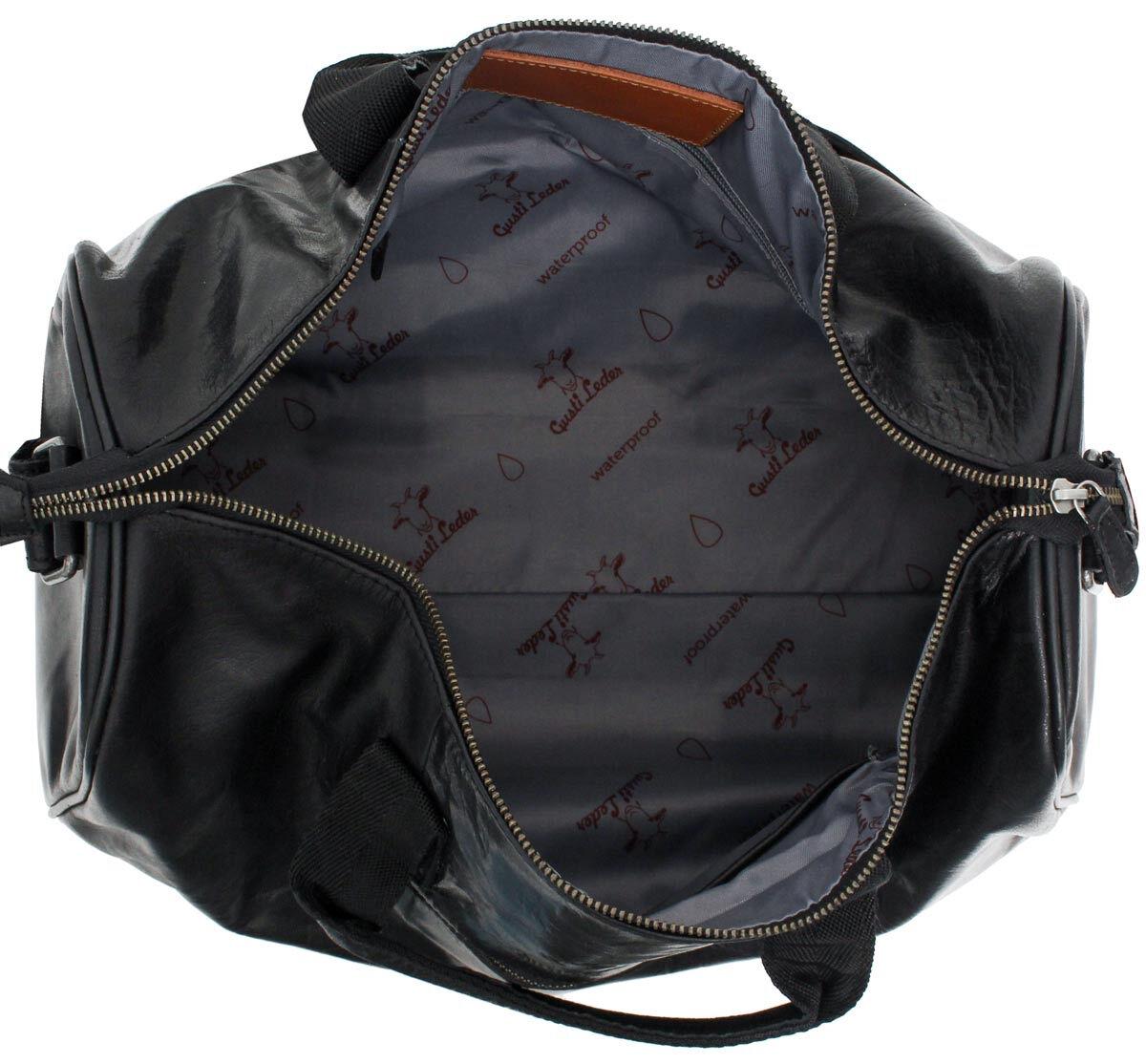 Outlet Reisetasche - kleinere Lederfehler - faltiges Leder – ansonsten neu – Siehe Video