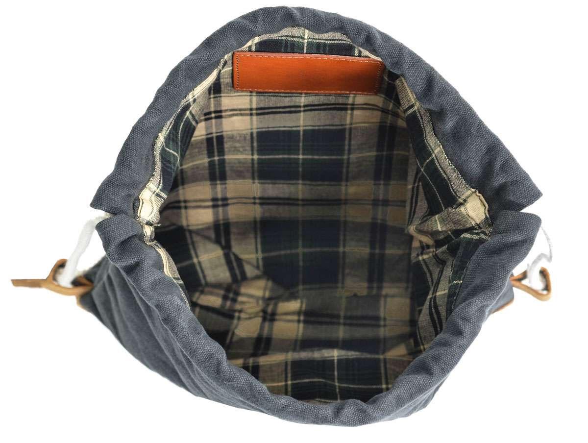 Outlet Rucksack – kleinere Lederfehler - kleine Farbunterschiede im Leder - ansonsten neu - siehe Vi