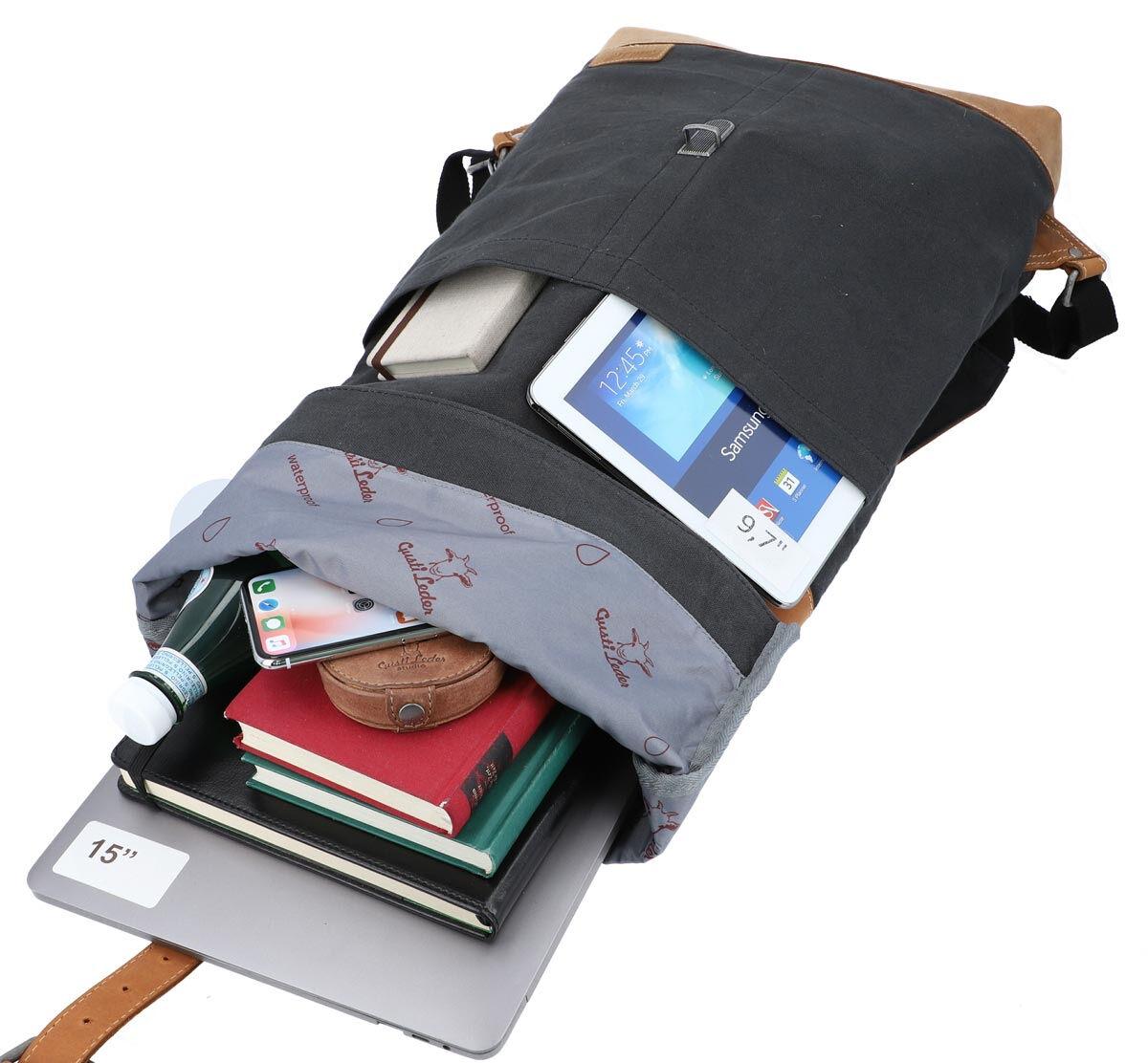 Outlet Rucksack - defekter Verschluss – Altes Logo - kleinere Lederfehler - ansonsten neu – siehe Vi