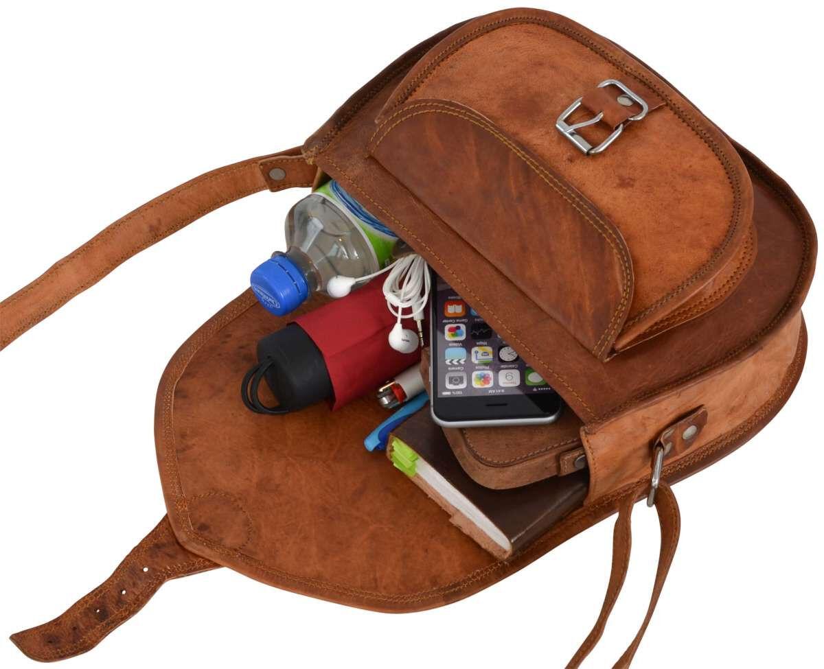 Outlet Umhängetasche - kleinere Lederfehler – Verfärbungen - faltiges Leder - ansonsten neu - si