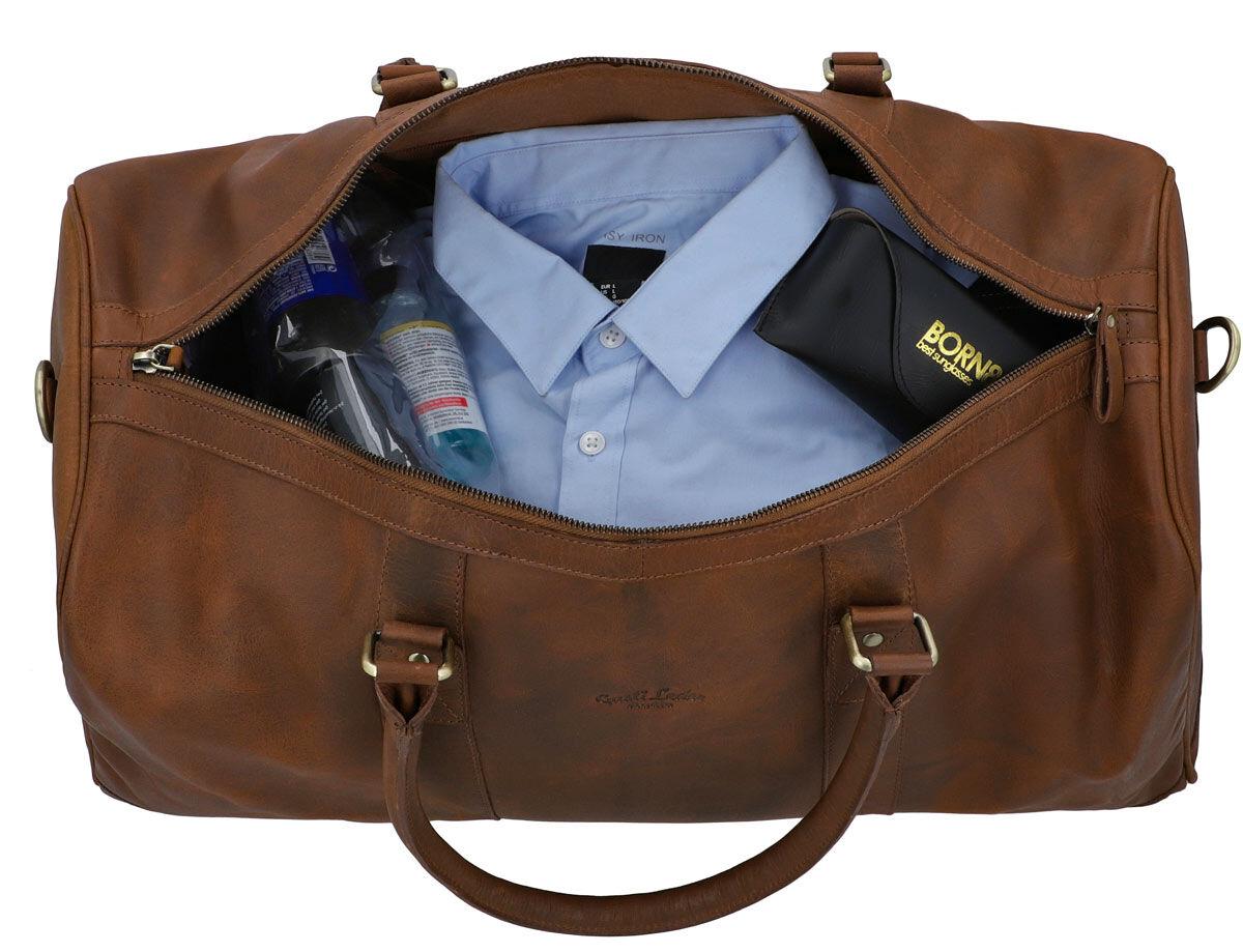 Outlet Reisetasche - kleinere Lederfehler – Schultergurt fehlt - ansonsten neu – siehe Video