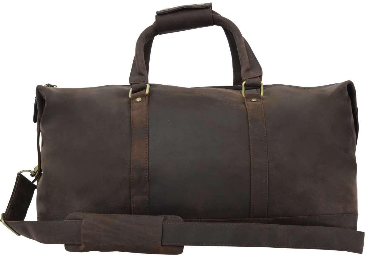 Outlet Reisetasche - kleinere Lederfehler - ansonsten neu - siehe Video