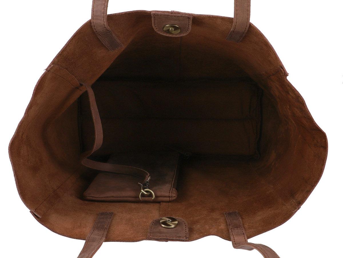 Outlet Handtasche – Verfärbungen - kleinere Lederfehler – ansonsten neu – Siehe Video